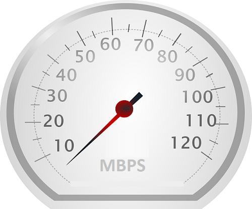 Speedometer mbps