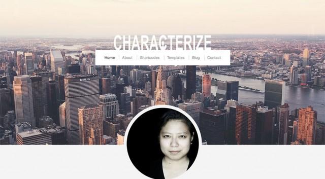 characterize theme